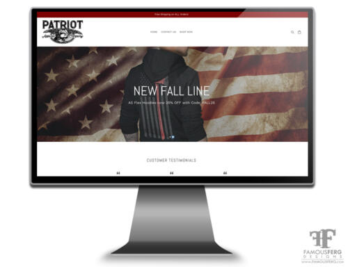 Patriot-Apparel-Web-Design